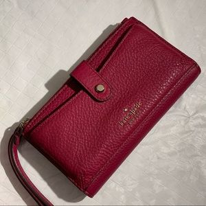 Kate Spade Cranberry Wristlet Wallet